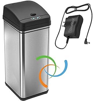 odor free trash can