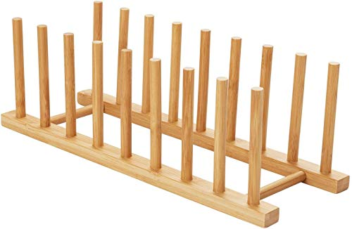 HBlife Bamboo Dish Drying Rack