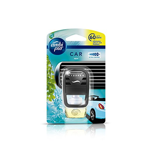 Ambi Pur Aqua Car Air Freshener Starter Kit, 7.5...