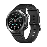 Smart Fitness Watch, 24 Hours Activity Tracker, Heart Rate Monitor, Sleep Monitor ,with Step Counter, Message and Call, Round Face Pedometer Watches, Compatible with Android and iOS