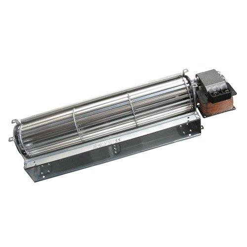 Ventilador tangencial EMMEVI Fergas 113908 para estufas de pellets. Largo 390 mm Boquilla 304 x 40
