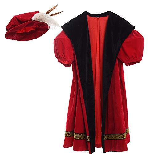 GRACEART Vestido de Lujo del Rey Enrique VIII de los Hombres Adultos Medievales (Small)