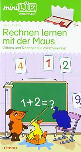 miniLÜK-Übungshefte / Vorschule: miniLÜK: Rechnen lernen mit der Maus: Einfaches Zählen und Rechnen für Vorschulkinder
