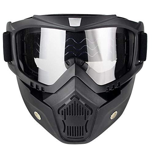 Gafas de sol HEXUAN al aire libre tácticos gafas de motocicleta a prueba de viento ojos de pesca montañismo a prueba de polvo, trasparente