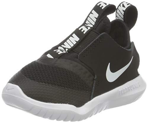 Nike Kids Flex Runner (Infant/Toddler) Black/White 8 Toddler