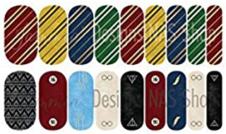 I Solemnly Swear Full Nail Wraps Decals
