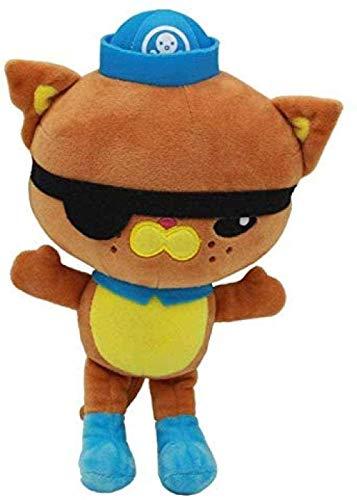N-R Peluches Muñeca Octonautas Capitán Barnacles Peso Peluche Suave Animales de Peluche Juguetes para niños Regalos para niños 28Cm