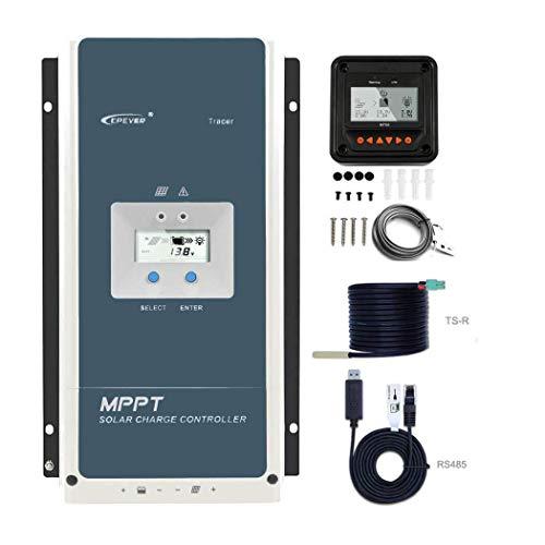 EPEVER MPPT Charge Controller 80 amp - 12V/24V/36V/48V Auto, Negative Ground MAX...