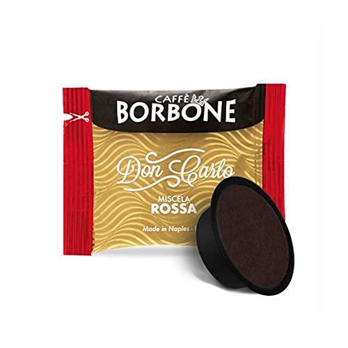 Caffè Borbone Don Carlo Miscela Rossa - Confezione da 50 Capsule – Compatibile Lavazza A Modo Mio