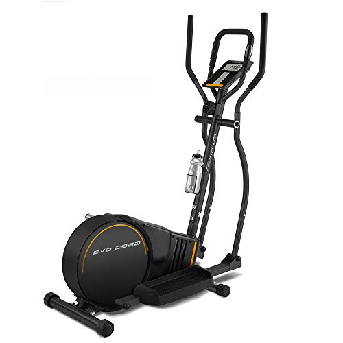 BH Fitness - EVO - C950 VELBOS - Bicicleta Elíptica, Adultos Unisex, Negro, Talla Única - Edición Exclusiva