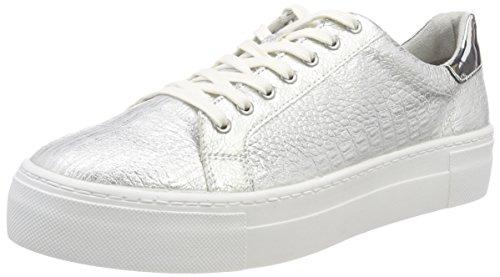 Tamaris Damen 23729 Sneaker, Silber (Silver Struct.), 36 EU