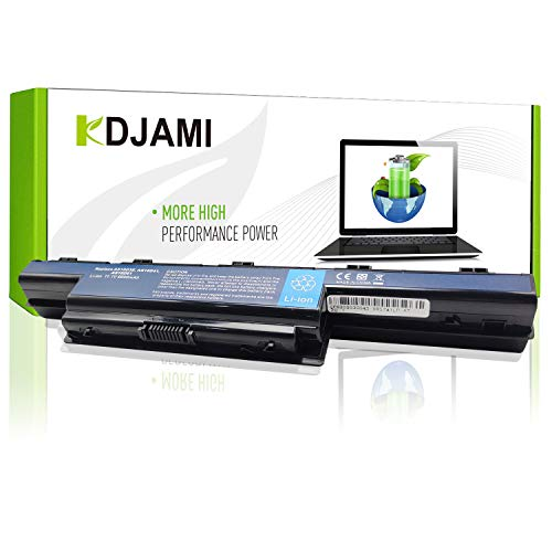 KDJAMI Laptop Battery AS10D31 AS10D3E AS10D41 AS10D51 AS10D61 AS10D71 AS10D73 AS10D75 AS10D81 for Acer / eMachines / Packard Bell (6600 mAh)