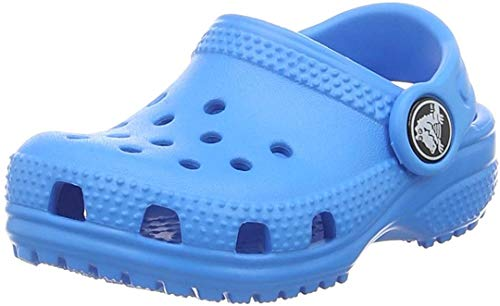 Crocs Kids' Classic Clog | Slip On Shoes for Boys and Girls | Water Shoes, Ocean, J4 US Big Kid