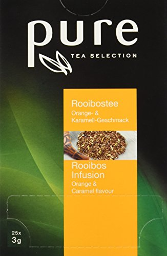 PURE Tea Rooibos caramel / orange, 1er Pack (1 x 75 g)