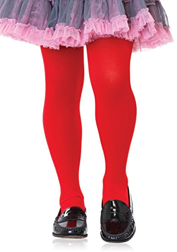 Leg Avenue meisjes panty rood ondoorzichtig maat L ca. 122 tot 140