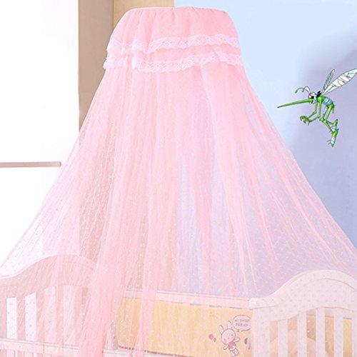 Jiyaru Ciel de Lit Moustiquaire pour Lit de Bébé Avec Poteau #6
