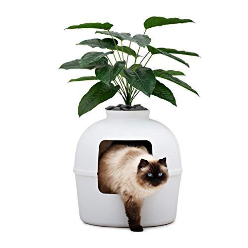 Bundle & Bliss Secret Litter Box - Premium Hidden Litter Box Enclosure, Perfect...