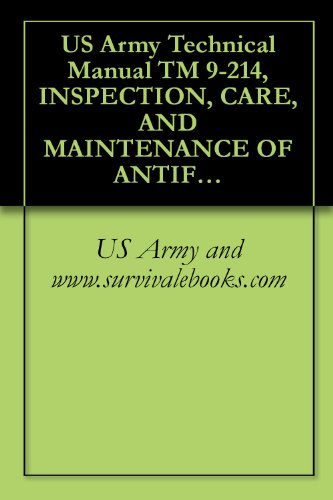 US Army Technical Manual TM 9-214, INSPECTION, CARE, AND MAINTENANCE OF ANTIFRICTION BEARINGS, 1959 (English Edition)