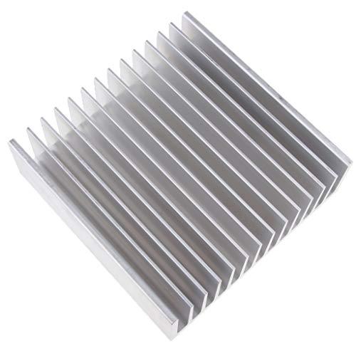 B Blesiya / PC CPU Aleta de Enfriamiento del Radiador de Difusión Aluminio (x 1 Paquete) # 1