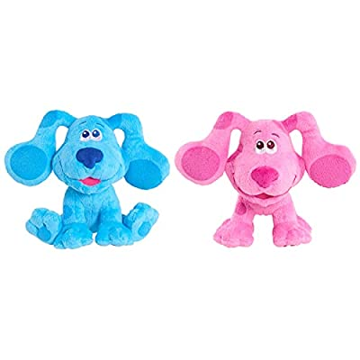 Blue's Clues & You! Beanbag Plush Blue & Magenta 2-Pack, Multi-Color (49591) by Just Play
