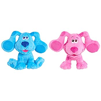 Blue s Clues & You! Beanbag Plush Blue & Magenta 2-Pack Multi-Color  49591