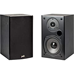 "GET SUPERIOR HOME THEATER EXPERIENCE WITH IMMERSIVE SURROUND SOUND – Featuring (1) 0.75"" tweeter & (1) 5.25"" Dynamic Balance Driver, these speakers are designed to produce a natural, well-balanced sound with massive bass even at the lowest frequencie..."
