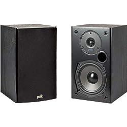 professional 100W Polk Audio T15 Home Theater Bookshelf Speakers – Deep Bass High Quality Audio |…