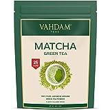 VAHDAM- Certified Japanese Matcha Green Tea Powder - 50 gm (25 Servings) |100%