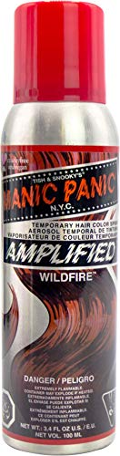 Manic Panic Wildfire Red Hair Color Spray Dye