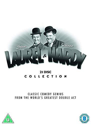 Laurel & Hardy: The Collection (Tradewide Repackage) (22 Dvd) [Edizione: Regno Unito]