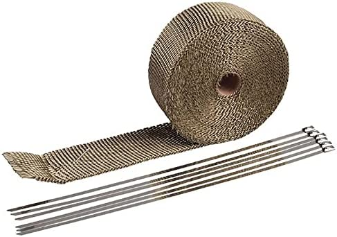 ZHHOOHAG Exhaust Wrap 15m Tape Thermal Complete Free Shipping Japan Maker New Pipe