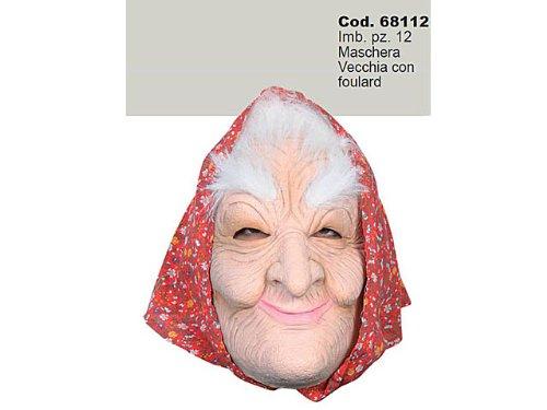 Maschera Befana o Anziana o Strega per Adulto
