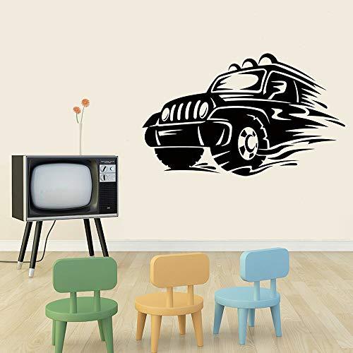 yaonuli Mode Sport Auto Vinyl wandaufkleber Auto Wand für Kinder Wohnzimmer Dekoration Schlafzimmer Dekoration Startseite wandtattoos 28x33 cm