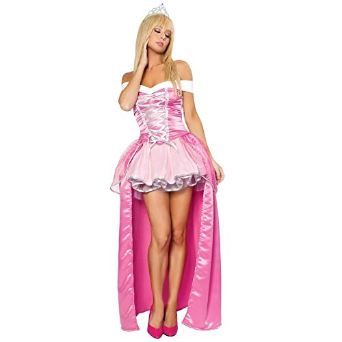 MeButy Cosplay Sexy Disfraz De Princesa De Cuento De Hadas para Mujer Adulta, Disfraz De Belleza para Fiesta De Halloween-Segundo_S