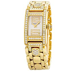 Yellow Gold Promesse Quartz Female Watch