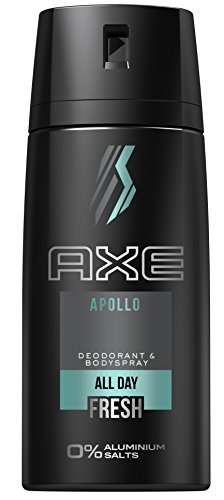 AXE Deospray Apollo ohne Aluminium 150 ml, 3er Pack (3 x 150 ml)