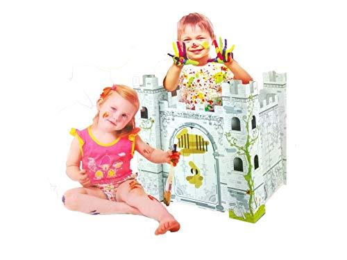 Castillo de cartón para Pintar Linea didacticos Fabi Y Sofi Smart Toys