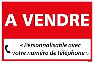 Panneau Immobilier Signal/étique Annonce de Vente R/ésiste aux intemp/éries Format A4-29,7 x 21 cm Appartement /à Vendre Voiture /à vendre Autocollant Non rigide 3 Panneaux /À Vendre