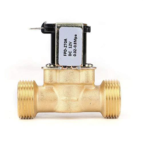 opiniones electrovalvula 12v agua calidad profesional para casa
