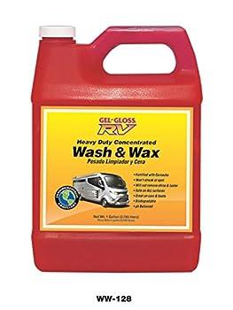 Gel-Gloss RV Wash and Wax - 128 oz - WW-128