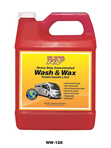 Gel-Gloss RV Wash and Wax - 128 oz. - WW-128