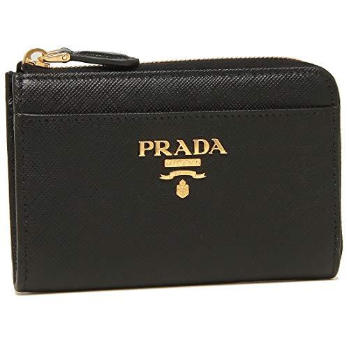 [プラダ]キーケース コインケース レディース PRADA 1PP122 QWA F0002 ブラック [並行輸入品]