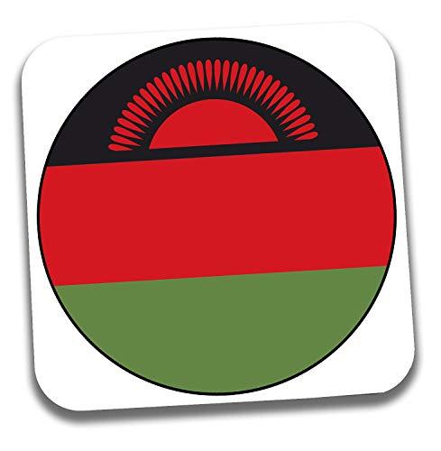 Getränkeuntersetzer mit Malawi-Flagge, Geschenk – Geburtstag – Weihnachten – Strumpffüller – Secret Santa