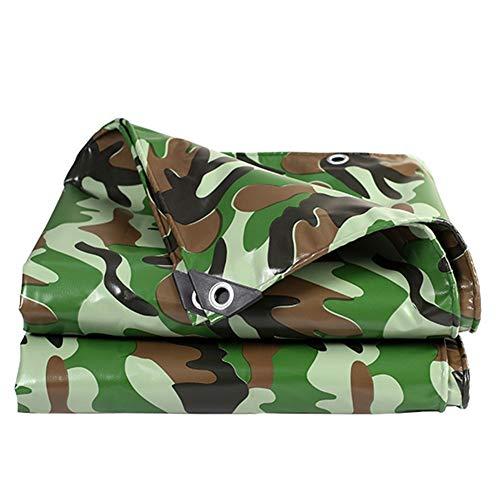 Bâche résistante, bâche UV imperméable d'ombrage du Soleil, bâche de Protection et Couverture de Camion, Tente for Le Camping de Bateau de Voiture (Size : 5m×8m)