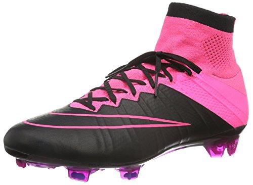 Nike Mercurial Superfly Fg, Scarpe da Calcio Uomo, Multicolore (Black/Hyperpink), 43 EU