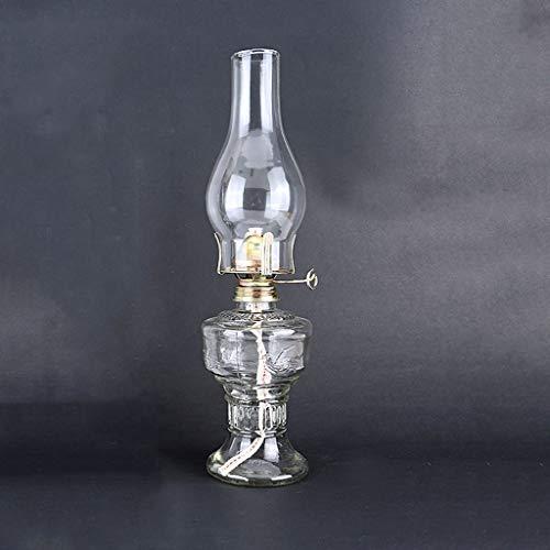 GCMJ Lamparas De Aceite Candil Antiguo Decoracion Marinera Camping Quinque Iluminación de Interior (Color : Clear)