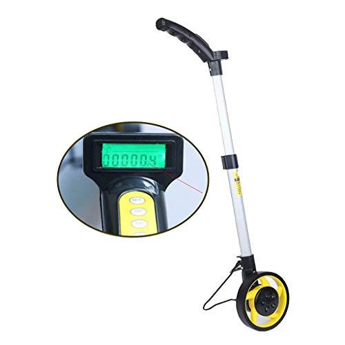 SOHOH Zusammenklappbares Messrad, Tragbares Messrad Digitales Mechanisches Messrad Mit Griff Mit Messbereich 0~9999Ft