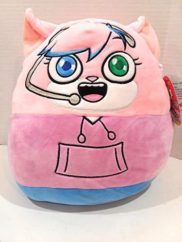 Kelly Toy Squishmallow Plush Ryan's World Pocket Watch Pink Cat, Red Titan, Gus The Gummy Gator, Combo Panda (Alpha Lexa Cat)