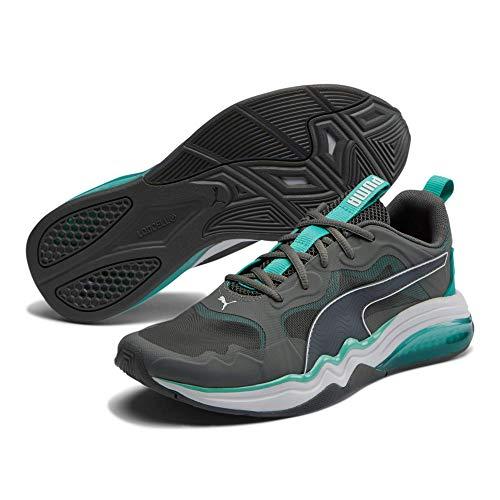 PUMA Men's Thunder Sneaker (Castlerock-Blue White, Numeric_10_Point_5)