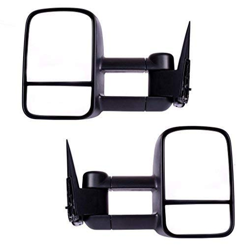 DEDC Tow Mirrors for Chevy Silverado GMC Sierra 99-06 Truck Towing Mirrors Pair 1999 2000 2001 2002 2003 2004 2005 2006